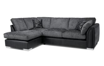 Formal Back Right Hand Facing Open End Corner Sofa Carrara
