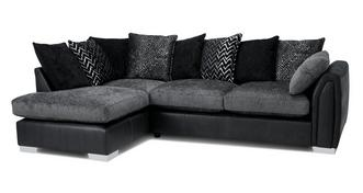 Krypton Pillow Back Right Hand Facing Open End Corner Sofa