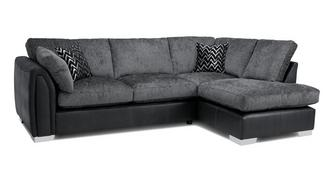 Krypton Formal Back Left Hand Facing Open End Corner Sofa