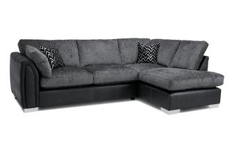 Formal Back Left Hand Facing Open End Corner Sofa Carrara