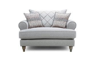Pillow Back Cuddler Sofa Langfield
