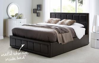 Lara Double Storage Bedframe Faye