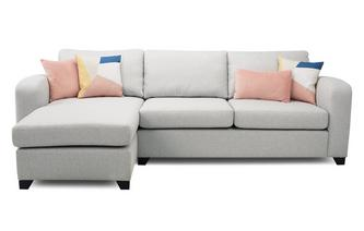 Layla: Left Hand Facing Chaise End 3 Seater Sofa