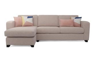Casual Left Hand Facing Chaise End 3 Seater Supreme Sofa Bed