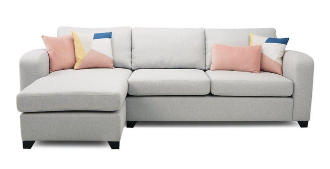 Layla Left Hand Facing Chaise End 3 Seater Supreme Sofa Bed ...