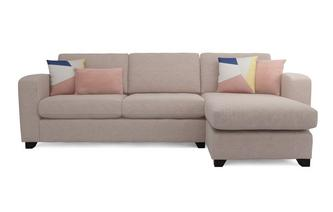 Right Hand Facing Chaise End 3 Seater Supreme Sofa Bed