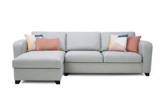 Left Hand Facing Storage Chaise End 3 Seater Sofa