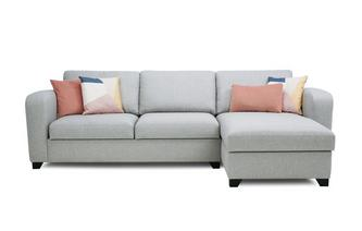 Right Hand Facing Storage Chaise End 3 Seater Sofa