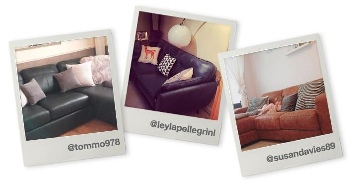 A Selection Of Customer Roomset Blog Polaroids