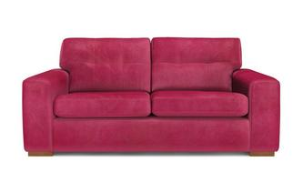 Velvet 3 Seater Sofa with Removable Arm