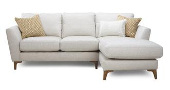 Libby Plain Right Hand Facing Chaise End 2 Seater Sofa