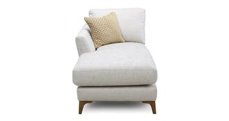 Libby Plain Left Hand Facing Arm Chaise Unit