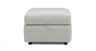 Libby Plain Storage Footstool