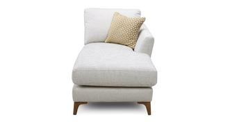 Libby Plain Right Hand Facing Arm Chaise Unit