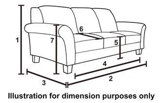 Loch Leven Grand Pillow Back Sofa Dfs