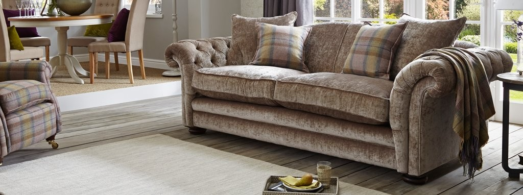 Loch Leven Grand Pillow Back Sofa Loch Leven Dfs