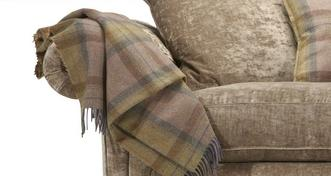 Loch Leven Plaid Throw