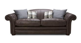 Loch Leven Leather 4 Seater Sofa