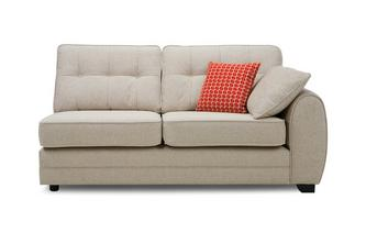 Right Hand Facing 1 Arm 3 Seat Deluxe Sofa Bed Unit