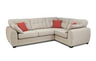 Left Hand Facing 3 Seater Corner Sofa