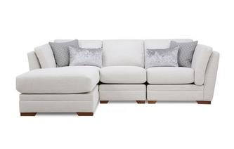 Left Hand Facing Small Chaise Sofa Long Beach