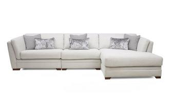 Right Hand Facing Large Chaise Sofa Long Beach