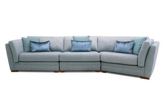 Right Hand Facing Large Angle Sofa Long Beach