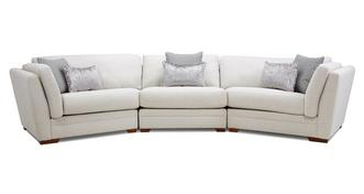 Long Beach Large 3 Piece Angled Sofa