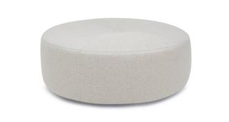 Loversall Plain Round Footstool