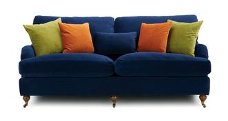 Ludlow Velvet 4 Seater Sofa