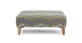 Ludo Pattern Banquette Footstool