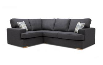 Ludo Right Hand Facing 2 Seater Corner Sofa Bed Revive