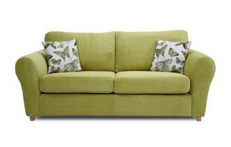 Formal Back 3 Seater Standard Sofa Bed