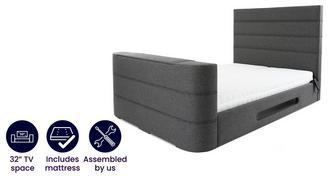 Lumeo Super King Adjustable TV Bed & Dreamatic Mattress