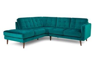 Right Hand Facing Arm Open End Corner Sofa