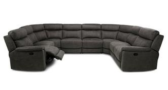 Luther Option N Manual 8 Piece U Shape Sofa