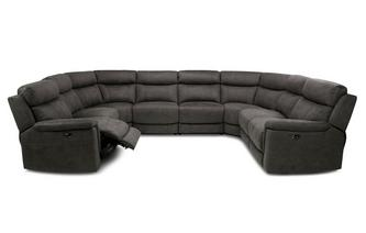 Option P Power Plus 8 Piece U Shape Sofa Arizona