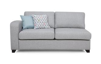Left Hand Facing 1 Arm 3 Seater Supreme Sofa Bed Lydia