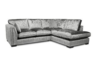 Formal Back Left Hand Facing 2 Seater Corner Sofa
