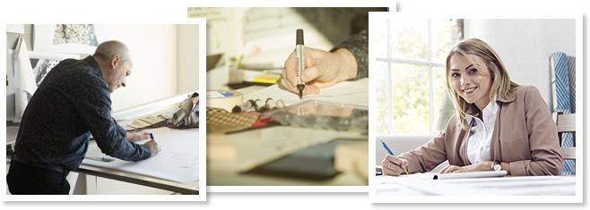 maak kennis met onze ontwerpers