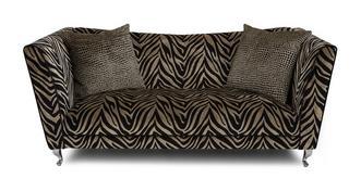 Madagascar Tiger Pattern 3 Seater Sofa