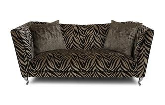 Tiger Pattern 3 Seater Sofa