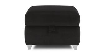 Madagascar Plain Storage Footstool