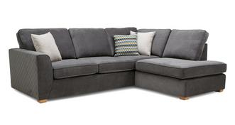 Mahiki Left Hand Facing Arm Open End Corner Sofa