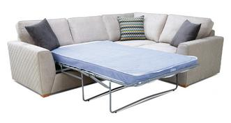 Mahiki Left Hand Facing 2 Seater Deluxe Corner Sofa Bed
