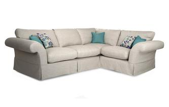 Plain Left Hand Facing 3 Seater Corner Sofa Malvern Plain