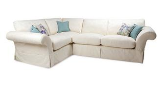 Malvern Pattern Right Hand Facing 3 Seater Corner Sofa