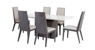 Mara Dining Table & Set of 6 Dining Chairs
