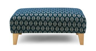 Mariana Pattern Banquette Footstool