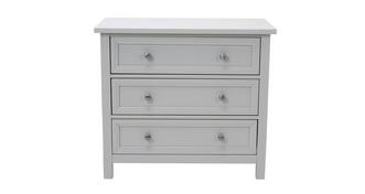 Marina 3 Drawer Wide Chest